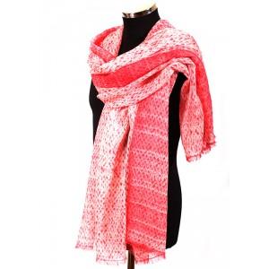 Shiboriweave cashmere shawls