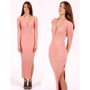 Pink Cashmere Dress